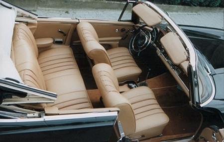 Innenausstattung  Oldtimer-Innenausstattung - Cabrioletverdecke